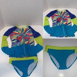 Limeapple swinsuit set for girl